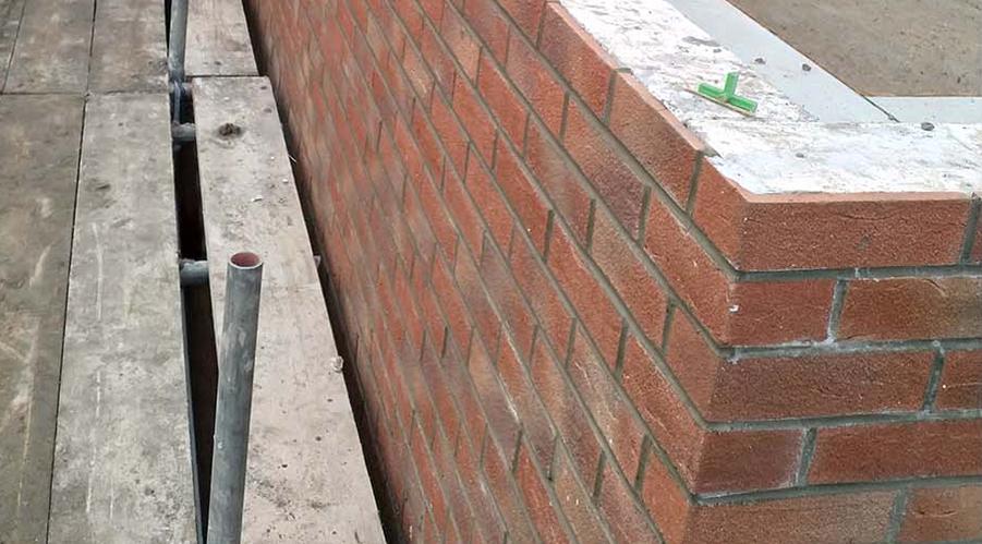 Chelmsford brick slip detail