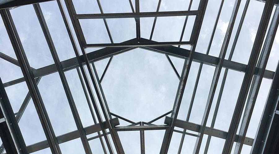 View through the Atrium